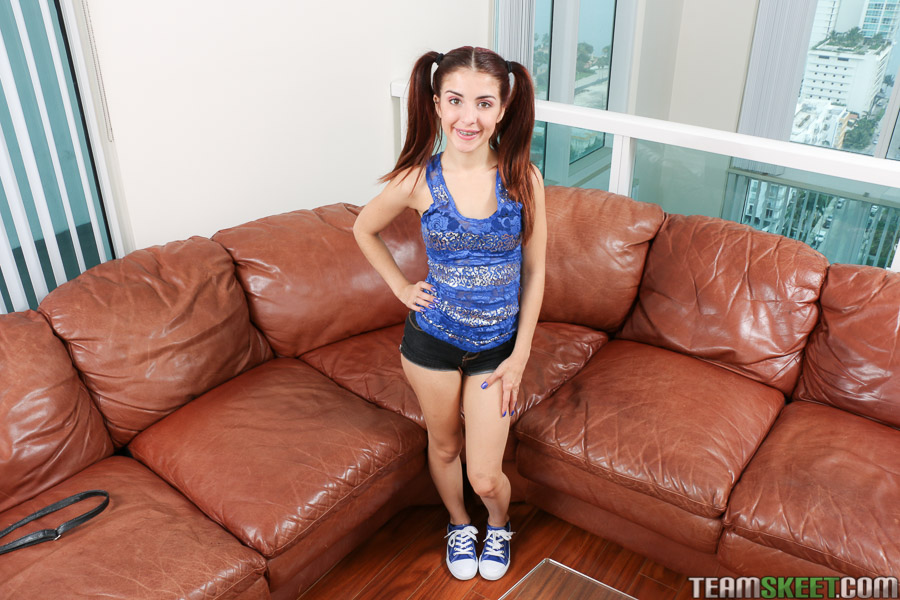 Sally Squirt Adorable Teen Takes More Cock Than She Can Handle 1