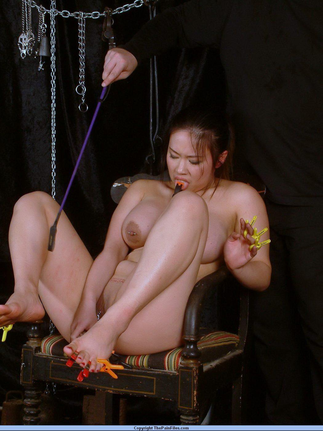 Bdsm reality show of asian slave tigerr benson drawing punishments and hot waxing torments tnaflix porn pics